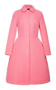 Shop Knit Mesh Coat With Collar by Simone Rocha - Moda Operandi