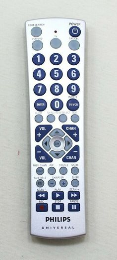 Philips Universal Remote Model CL019 #Philips O Tv, Remote, Store, Model, Ebay, Storage, Scale Model, Models