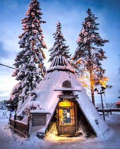 Rovaniemi, Finland Very cool.