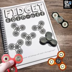 Fidget Spinners in the classroom driving you crazy? Try these high-interest activities, STEM challenges, and learn how to take a trend and turn it into a math and science lesson students will love. Includes a FREE download activity and printables for using fidget spinners in the classroom.