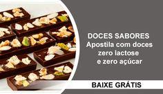Apostila com doces Zero Lactose e Zero Açúcar | Creative