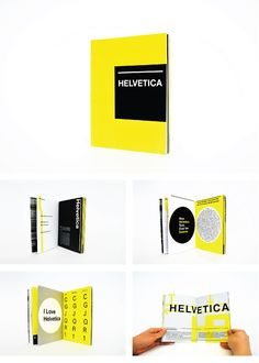 Helvetica Type Specimen Book on Behance