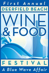 Deerfield Beach Wine & Food Festival- April 27 & 28  Where: Quiet Waters Park, 401 South Powerline Road, Deerfield Beach, Florida  https://www.facebook.com/events/343777325682001/