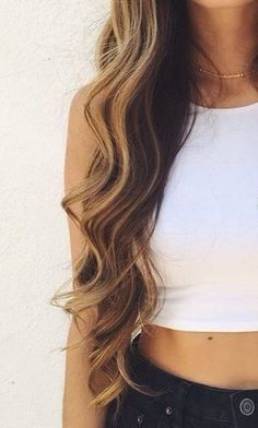 I want my hair to be this long