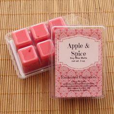 Apple & Spice Soy Wax Melts  Handmade Soy Wax Melts
