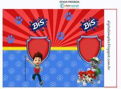 "Convites Digitais Simples: Kit Digital Aniversário ""Patrulha Canina"""