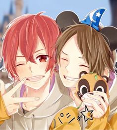 awwww best friends that's me and my friend Isabel 😄😆 it looks like it through 🤔😏 Handsome Anime, Real People, Vocaloid, Kawaii Anime, Anime Guys, Watercolor Paintings, Anime Art, Digital Art, Geek Stuff