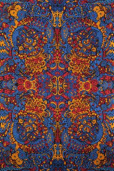 Tapisserie de liquide A psychédélique 60 x 90 par BostonHolistics