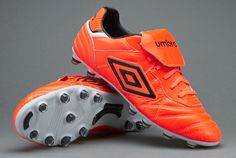 Umbro Speciali Eternal Pro HG - Shocking Orange /Black/White