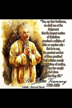 St John Vianney, Learning To Pray, Catholic Quotes, Eucharist, Catholic Saints, Humility, Wise Quotes, Holy Spirit, Christianity
