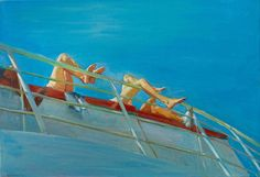 The Antidote of Water: Maria Filopoulou Paints the Greek Seas   Yatzer