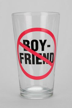 Boyfriend Pint Glass