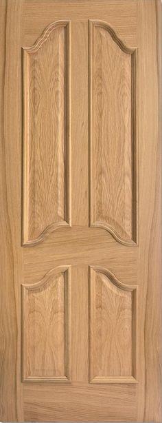 Richelieu 4 Raised Panel Door Oak - internal doors - oak - Richelieu 4 Raised Panel Door Oak - Timber Tool and Hardware Merchants established in 1933 & Richelieu 4 Panel 2 Glazed Door 78x30 Oak - internal doors - oak ...