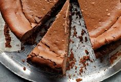 Espresso Cheesecake Recipe | Geoffrey Zakarian (In this chocolate espresso cheesecake, the boldness of espresso smooths the slight tang of sour cream and rounds out the rich chocolate flavor.)