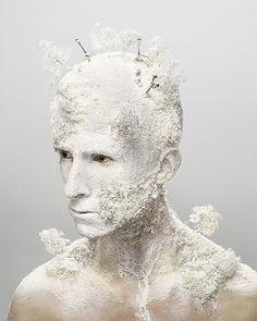 Levi Van Veluw's Landscape Self-Portrait Series
