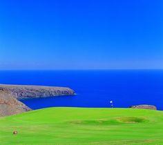 Tecina Golf Isla Gomera.