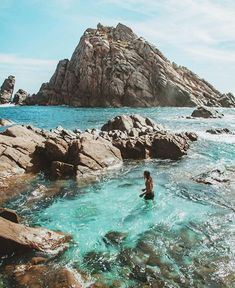 Sugarloaf Rock in Dunsborough by - Submit your photos via Family Road Trips, Big Family, Travel Aesthetic, Western Australia, Gold Coast, Perth, Summer Vibes, Trip Planning, Beautiful Places