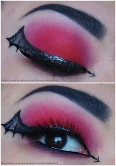Devil's Winged Eye! Perfect for halloween! :D