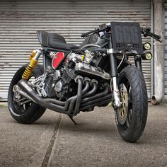 Road Bomber: Bad Seeds' brutal Honda CBX