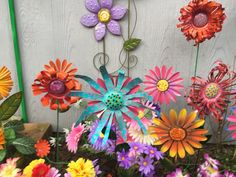So nice and bright Pop Can Crafts, Dyi Crafts, Tin Can Flowers, Aluminum Cans, Pop Cans, Metal Art, Soda, Beer, Bright