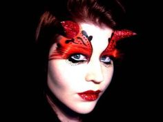 #Halloween #Makeup #She-Devil / Gothic Fairy Make-up Tutorial