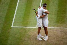 sportsmanship #tennis #wimbledon2018 #rafa