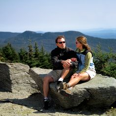 Scenic green vistas, enjoyable hikes, canoeing, and golf can fill a summer vacation in Stowe.