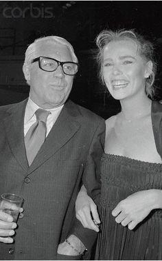Cary Grant and Margaux Hemingway at Studio 54