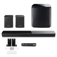 BOSE SoundTouch 300 Acoustimass 300 Virtually Invisible Surrounds Wall Mount