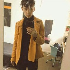 Boy Fashion, Mens Fashion, Blue Neighbourhood, Gay Outfit, Troye Sivan, Sexy Men, Normcore, Leather Jacket, Urban