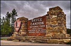 Bryce Canyon National Park Sign | Flickr - Photo Sharing!