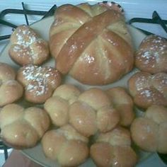 Pan de Muertos (Mexican Bread of the Dead) Recipe - Allrecipes.com  I make this every year for All Souls Day and have never had a failure or anyone say they did not like the taste.  Surprisingly easy to make.