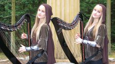 LORD OF THE RINGS Medley (Harp Twins electric) Camille and Kennerly I really wish I could visit the location this was filmed Kinds Of Music, My Music, River Flow In You, Concerning Hobbits, Youtube I, Youtube Stars, Celtic Music, Into The West, Bad Romance