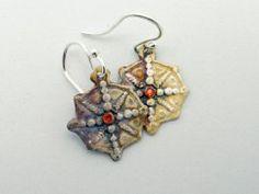 THE COMPASS ROSE  earrings !  www.islandmoonjewelry.com