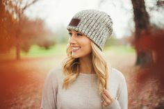 93df3c789f4d6 Black Speckled Beanie. Love Your Melon ...