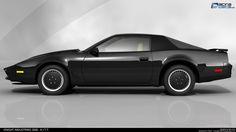 Knight Rider Original Car | Knight Industries Two Thousand - (KITT)
