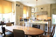 One Light Over a Kitchen Island