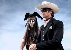 Equal Status, Kemo Sabe Johnny Depp Revises Tonto in 'The Lone Ranger'