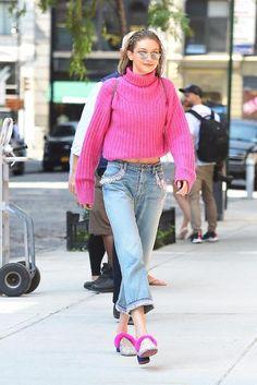 Sokak modasının kraliçesi: Gigi Hadid