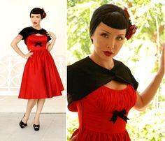Awesome pin up dress..want <3