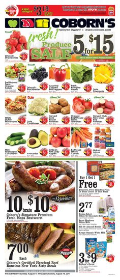 Coborn's Weekly Ad August 13 - 19, 2017 - http://www.olcatalog.com/coborns/coborns-weekly-ad.html