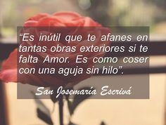 Frase sobre el amor -San Josemaría de Escrivá