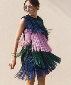 Shake it! Pssst! This amazing @msgm_official fringed dress is on site now! #STYLEBOP #MSGM #style #instastyle #regram @chicflavours by stylebop