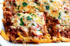 Baked Ziti - The Pioneer Woman. Looks good and funny blog to read!