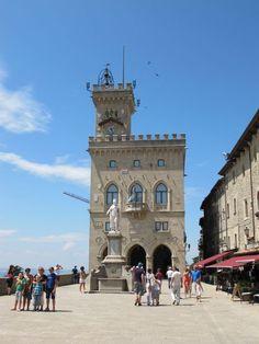 """Piazza della Liberta in San Marino - """"San Marino – more than just #78"""" by @Keith Jenkins"""