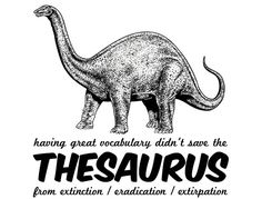 Pretty words won't save you now. | 20 Spectacularly Nerdy Dinosaur Jokes