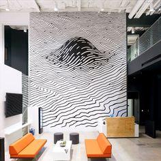 Brendan Monroe – Facebook Offices Mural | Be Street