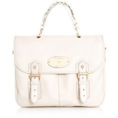 Mulberry Trout satchel bag ($1,273) ❤ liked on Polyvore