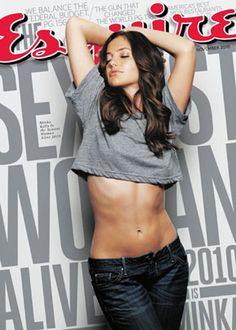 Minka Kelly lookin' good in that Low Rise Jeans