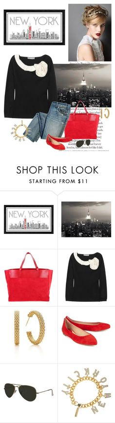 """untitled"" by j-yoshiko ❤ liked on Polyvore featuring Universal Lighting and Decor, WALL, Yves Saint Laurent, Valentino, Tiffany & Co., McQ by Alexander McQueen, Ray-Ban and Eddie Borgo"